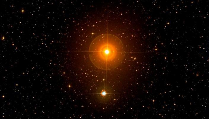 Gamma Caeli,Caelum,Caelum constellation,binary star