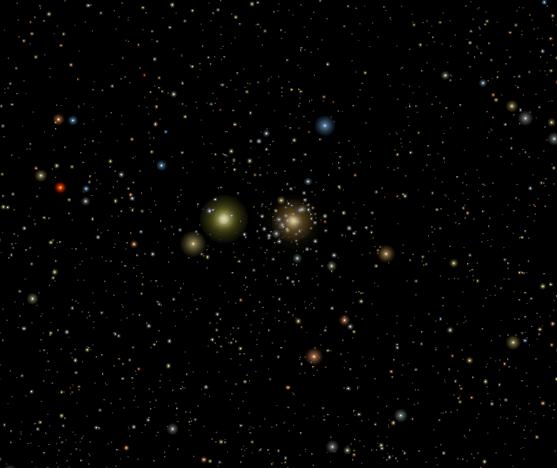 mars saturn conjunction,beehive cluster,praesepe,cancer constellation
