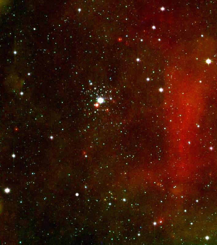 NGC 2362,tau canis majoris cluster,star cluster,canis major