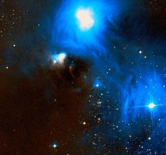 NGC 6729,reflection nebula,emission nebula,Corona Australis