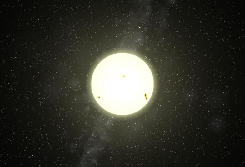 yellow star astronomy - photo #10